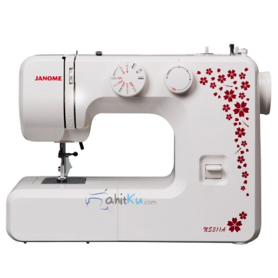 Mesin Jahit Portable Zigzag Janome NS 311A  large2
